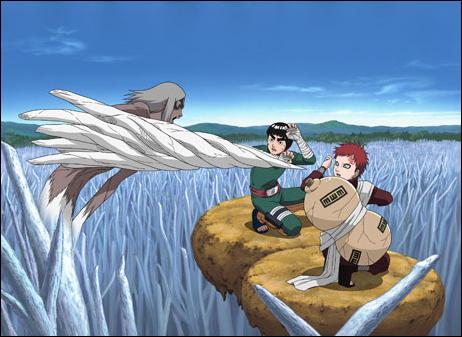 Anime | kpopislandrocks Gaara And Rock Lee Vs Kimimaro